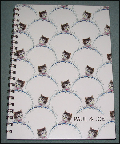 Pj kitty notebook