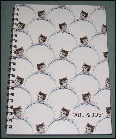 Pj kitty notebook