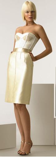 Dg bustier dress