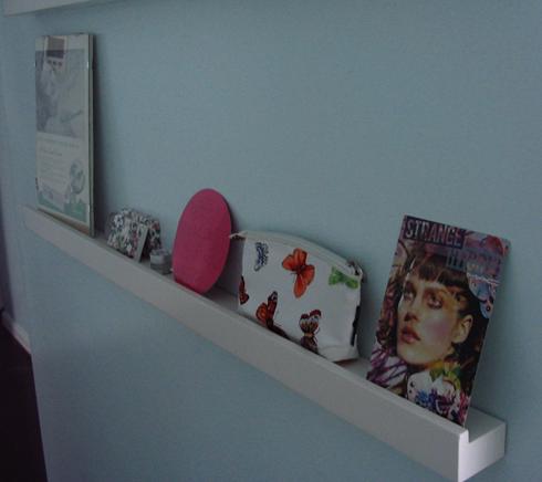 Bottom shelf