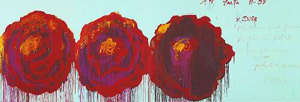 Cy twombly rose 4